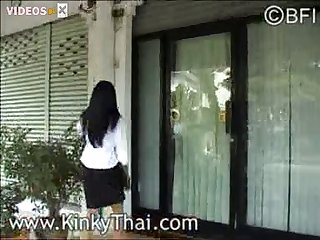 Kinkythai Salesgirl Dog Shit Rape 001